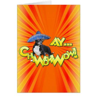 Cinco deメーヨー- Ay ChWowWow! -チワワ カード