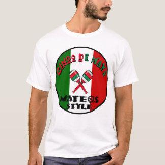 Cinco deメーヨー- Mateosのスタイル Tシャツ