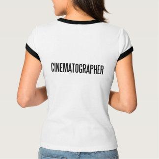 CinematographerWomenのBella+キャンバスの混合物の信号器 Tシャツ