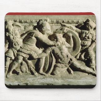 cinerary壷からの戦闘シーン、Etruscan マウスパッド