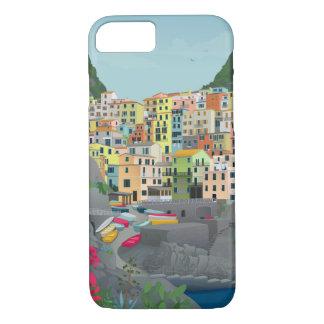 Cinque Terreの電話箱 iPhone 8/7ケース