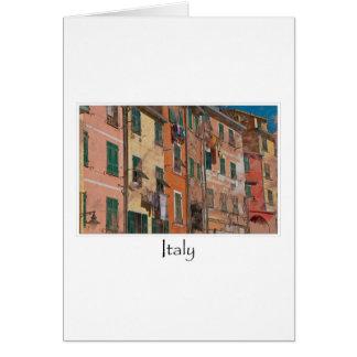 Cinque Terreイタリア のイタリア語リビエラ カード