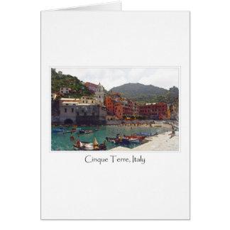 Cinque Terreイタリア|のイタリア語リビエラ カード