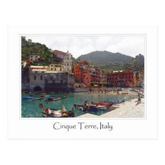 Cinque Terreイタリア|のイタリア語リビエラ ポストカード
