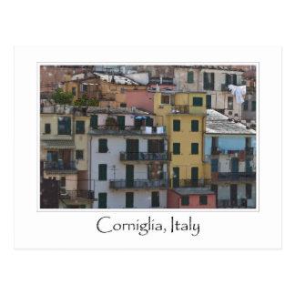 Cinque Terreイタリア-イタリア語リビエラ ポストカード