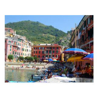 Cinque Terreイタリア ポストカード