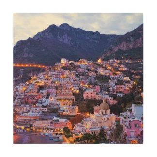 Cinque Terre、イタリア ウッドウォールアート