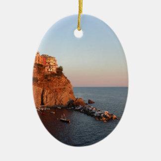 Cinque Terre、イタリア セラミックオーナメント