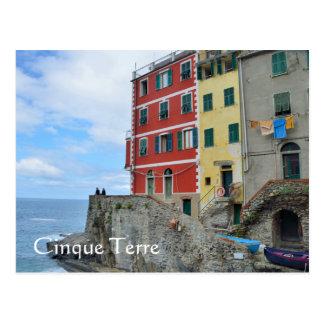 Cinque Terre、イタリア ポストカード