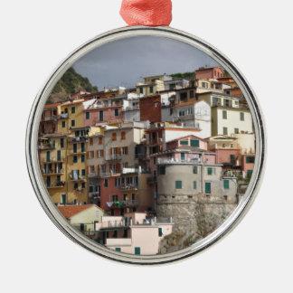 Cinque Terre、イタリア メタルオーナメント
