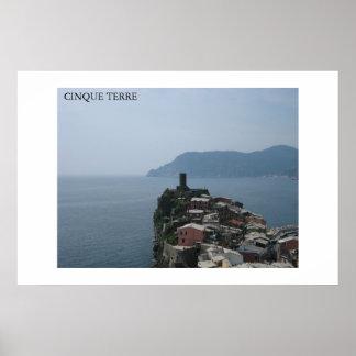 Cinque Terre ポスター