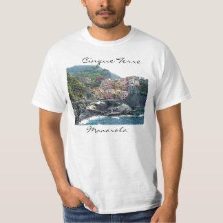 Cinque Terre Manarola Tシャツ