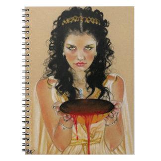 Circeのギリシャの女神のノート ノートブック