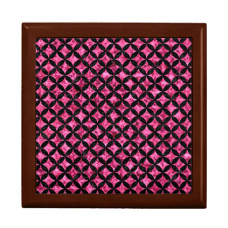 CIRCLES3黒い大理石及びピンクの大理石(R) ギフトボックス