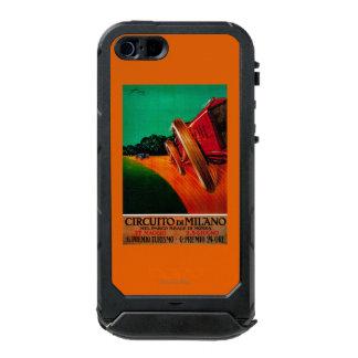 CircuitoのディディミアムのミラノのヴィンテージPosterEurope ウォータープルーフiPhone SE/5/5sケース