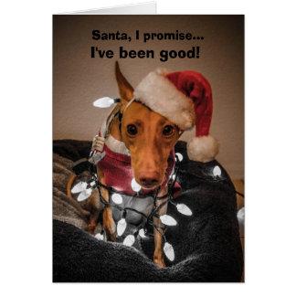 Cirnecoのdell'Etnaのクリスマスカード カード