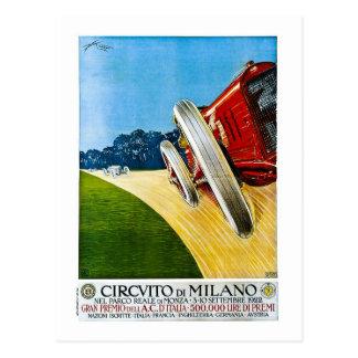 Cirvito Deミラノ1922年 葉書き