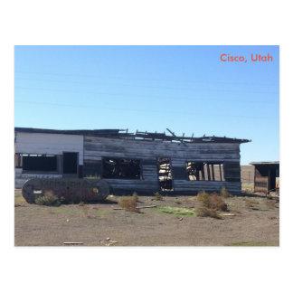 Cisco -ユタのゴーストタウン ポストカード
