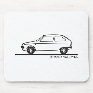 Citroënの査証のシトロエンの査証 マウスパッド