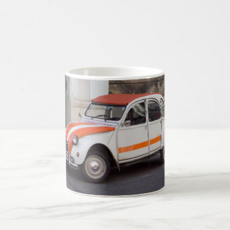 Citroën 2 CVの点 コーヒーマグカップ