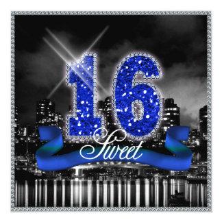 City Lights Sweet Sixteen Blue ID118 カード