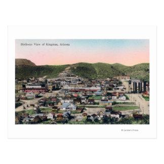 CityKingmanの空中写真、AZ ポストカード