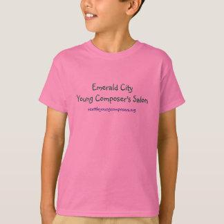 CityYoungエメラルドの作曲家のサロン、seattleyoun… Tシャツ