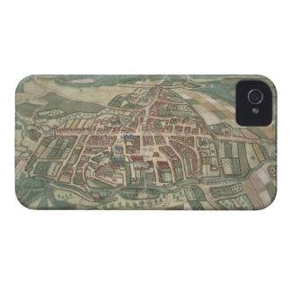 「Civitates Orbis Terrarum」からのオーデンセの地図、 Case-Mate iPhone 4 ケース