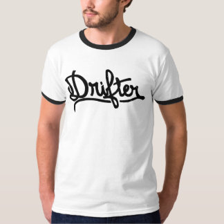 CJヒューズの芸術による漂流者のTシャツ Tシャツ