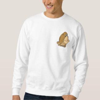 CLのおもしろいなゴリラの漫画のワイシャツ スウェットシャツ