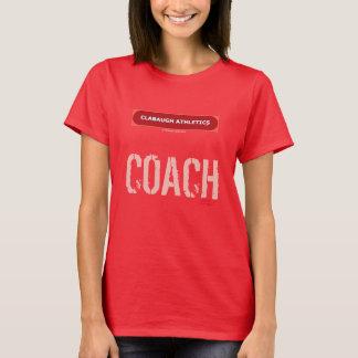 Clabaughの運動競技のコーチ Tシャツ