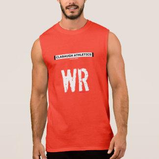 Clabaughの運動競技WR 袖なしシャツ