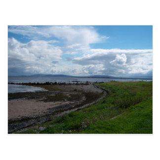 Claddaghからのゴールウェイ湾 ポストカード