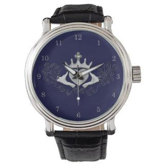 Claddagh (銀) 腕時計