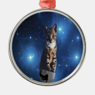 Clancy宇宙猫 メタルオーナメント