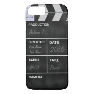 clapperboardの映画館 iPhone 8/7ケース