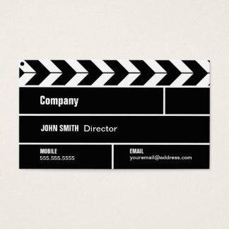 Clapperboard Filmディレクター映画事業カード 名刺