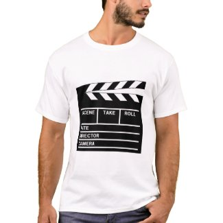 Clapperboard Tシャツ