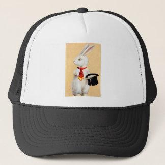 Clapsaddle: タイが付いているイースターのウサギ キャップ