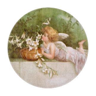 Clapsaddle: ユリとの天使 カッティングボード