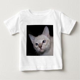 Clarence寄り目の猫 ベビーTシャツ