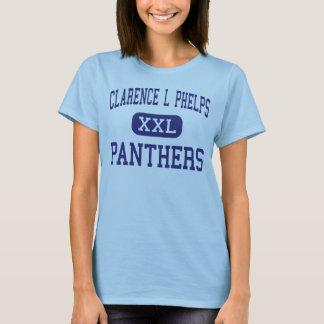 Clarence L Phelpsのヒョウの中間Ishpeming Tシャツ