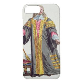 Clarendonのエドワードハイドの(1609-74年の)最初伯爵からの iPhone 8/7ケース