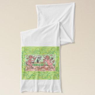 Claretのフレンドリーなガラス スカーフ
