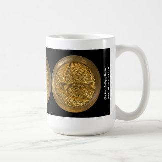 ClaritasはImage1986マグにボタンをかけます コーヒーマグカップ