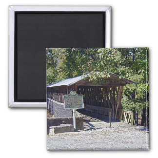ClarksonLeggの屋根付橋の正方形の磁石 マグネット