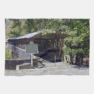 ClarksonLeggの屋根付橋 キッチンタオル