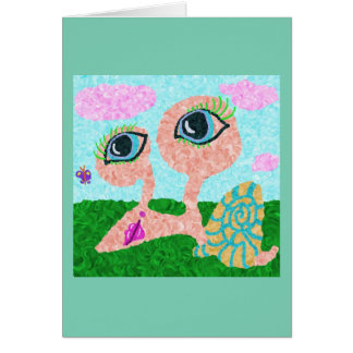 Clarrissa SnellおよびBluebelleの蝶 カード