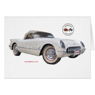 Classic_1954_Corvette_Texturized カード