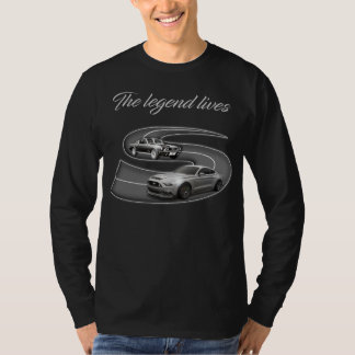 Classic Car Enthusiast Legends Tシャツ
